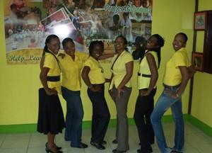 Staff team in Jamaica