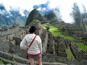 Voluntaria en Machu Picchu