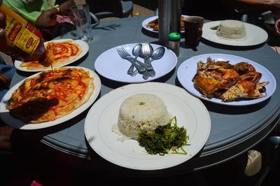 Una comida típica de Tanzania