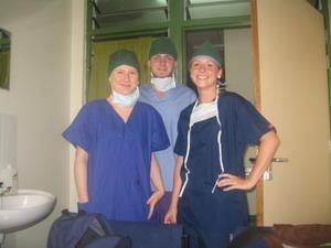 Medical volunteers