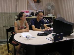 Internos de Negocios trabajando en compañía de Mongolia