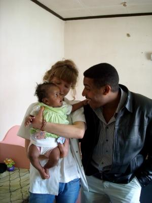 Work with babies in Ethiopia