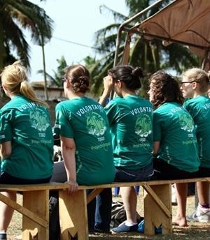 Participantes en el Proyecto con VIH/Sida en Togo