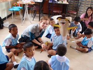 Volunteers in Thailand