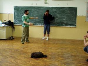 Acting class in Romania