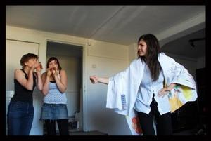 Drama class in Romania