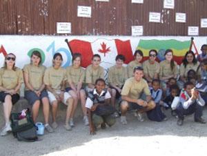 Voluntarios de Trabajo Social para adolescentes en Etiopía