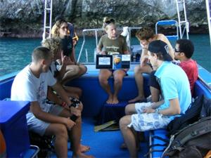 Diving and Marine Conservation in Thailand for High School Students