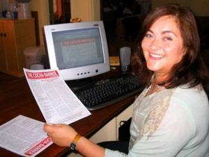 Journalism intern in Bolivia