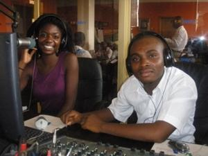 Radio journalism internship in Ghana
