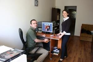 Editor y dueño de periódico en proyecto de Periodismo en Rumanía