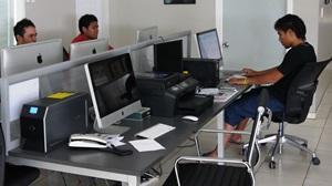Voluntarios de Projects Abroad en las Prácticas de Periodismo en Samoa