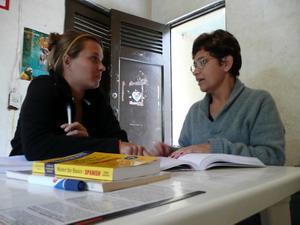 Learning spanish