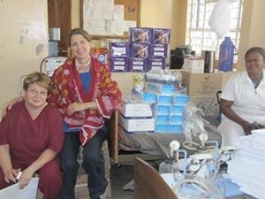 Voluntaria del Proyecto de Odontología en Tanzania