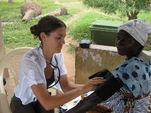interning in Ghana