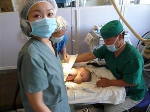Medical intern in Mongolia