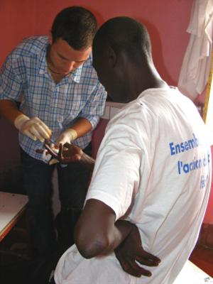 Medical intern in Senegal