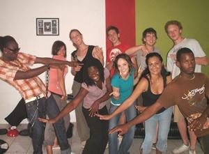 Reggae dance class