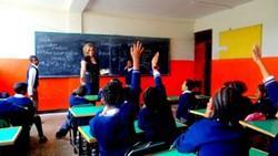 Profesora voluntaria en nuestro proyecto de enseñanza en Etiopía