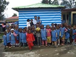 Voluntario profesional en el proyecto para profesores de educación física en Etiopía
