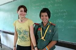 Profesores de inglés voluntarios realizan su voluntariado en Tailandia