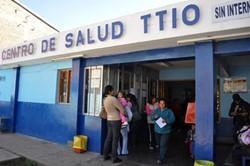Una de la clínicas médicas donde trabajan las matronas voluntarias.