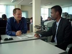 Asesoramiento empresarial en uno de nuestros proyectos de voluntariado para empresarios