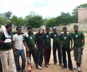 Coaching cricket in India