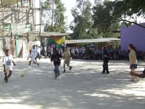 Sports project in Ethiopia