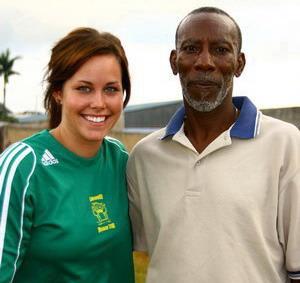 Soccer coach in Jamaica