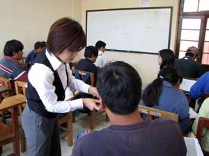 Volunteer Teaching in Bolivia