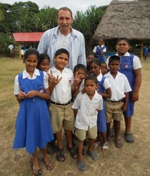 Volunteering in Fiji -Special School