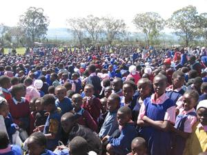 School Children in Kenya