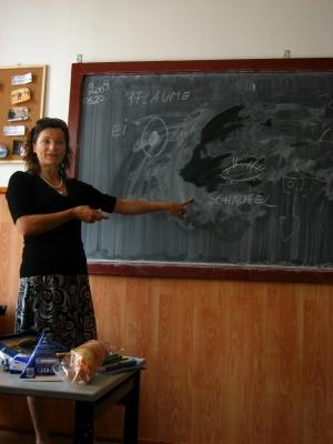 Teaching in Romania