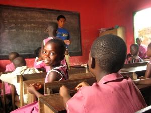 Teaching vol in Kumasi, Ghana
