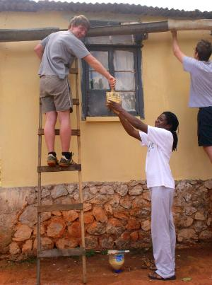 Vols doing Non-Project Work in Jamaica